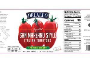 SAN MARZANO STYLE PETITE DICED ITALIAN TOMATOES