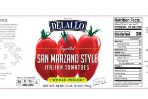 SAN MARZANO STYLE ITALIAN TOMATOES
