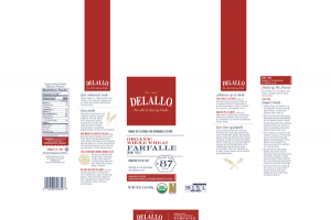 ORGANIC WHOLE WHEAT MACARONI PRODUCT, FARFALLE [BOW TIES]