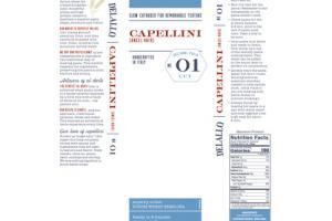 ARTISANAL PASTA CAPELLINI NO. 01