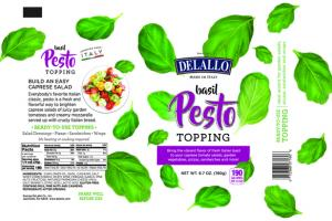 BASIL PESTO TOPPING