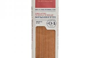 ORGANIC WHOLE WHEAT PASTA SPAGHETTI NO 04