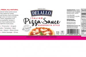 ITALIAN MARGHERITA STYLE PIZZA SAUCE