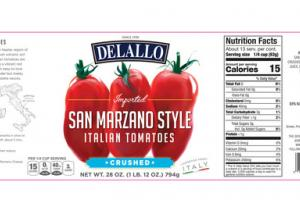 SAN MARZANO STYLE CRUSHED ITALIAN TOMATOES