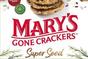 SUPER SEED ROSEMARY CRACKERS