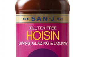 HOISIN GLUTEN FREE DIPPING, GLAZING & COOKING SAUCE