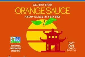 ORANGE GLUTEN FREE ASIAN GLAZE & STIR FRY SAUCE