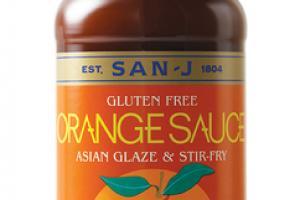 ORANGE GLUTEN FREE ASIAN GLAZE & STIR-FRY SAUCE