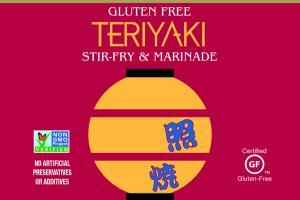TERIYAKI GLUTEN FREE STIR-FRY & MARINADE SAUCE