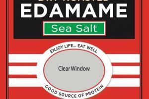SEA SALT DRY ROASTED EDAMAME
