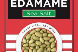 DRY ROASTED EDAMAME SEA SALT HEART HEALTHY SNACK