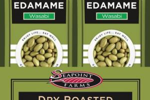 WASABI DRY ROASTED EDAMAME HEART HEALTHY SNACK