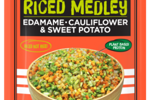 EDAMAME CAULIFLOWER & SWEET POTATO RICED MEDLEY