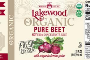 PURE BEET ORGANIC LEMON JUICE