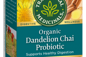 ORGANIC DANDELION CHAI PROBIOTIC SUPPORTS HEALTHY DIGESTION HERBAL TEA BAGS