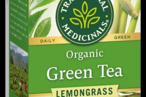 LEMONGRASS GREEN TEA HERBAL SUPPLEMENT