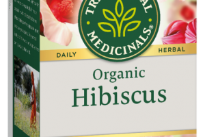 ORGANIC HIBISCUS HERBAL SUPPLEMENT WRAPPED TEA BAGS