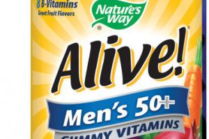 MEN'S 50+ COMPLETE MULTI-VITAMIN SUPPLEMENT GUMMIES
