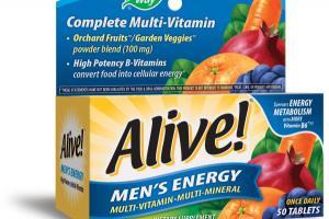 MEN'S ENERGY MULTI-VITAMIN MULTI-MINERAL DIETARY SUPPLEMENT TABLETS ORCHARD FRUITS / GARDEN VEGGIES