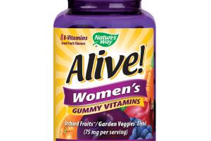 WOMEN'S COMPLETE MULTI-VITAMIN DIETARY SUPPLEMENT GUMMIES