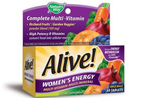 WOMEN'S ENERGY MULTI-VITAMIN-MULTI-MINERAL DIETARY SUPPLEMENT TABLETS