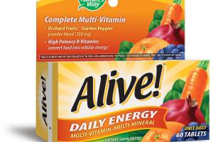 DAILY ENERGY MULTI-VITAMIN MULTI-MINERAL DIETARY SUPPLEMENT TABLETS