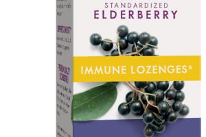 STANDARDIZED ELDERBERRY IMMUNE DIETARY SUPPLEMENT LOZENGES