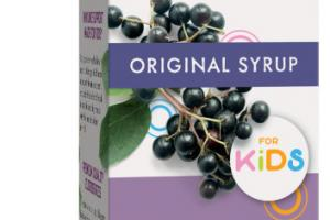 STANDARDIZED ELDERBERRY ORIGINAL IMMUNE SUPPORT FOR KIDS DIETARY SUPPLEMENT SYRUP