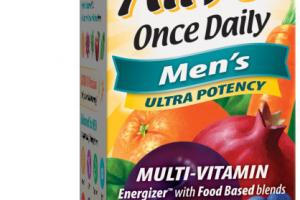 MEN'S ULTRA POTENCY ORCHARD FRUITS / GARDEN VEGGIES & DAILY GREENS POWDER (80 MG), ENZYMES, BIOFLAVONOIDS MULTI-VITAMIN SUPPLEMENT TABLETS