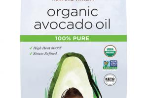 100% PURE ORGANIC AVOCADO OIL