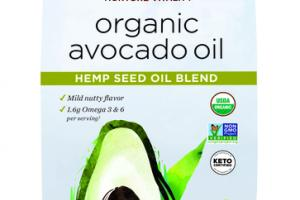 HEMP SEED OIL BLEND ORGANIC AVOCADO OIL