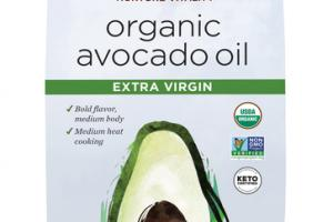 EXTRA VIRGIN ORGANIC AVOCADO OIL