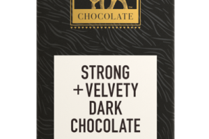 STRONG + VELVETY DARK CHOCOLATE