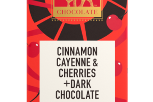 CINNAMON CAYENNE & CHERRIES +DARK CHOCOLATE