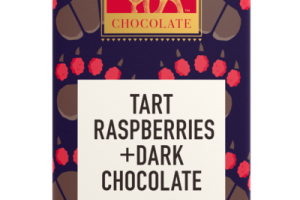 TART RASPBERRIES +DARK CHOCOLATE