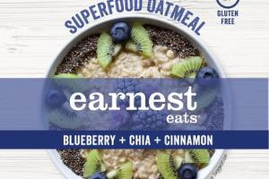 BLUEBERRY + CHIA + CINNAMON SUPERFOOD OATMEAL