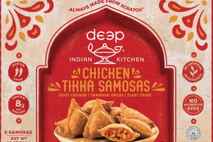 CHICKEN TIKKA SAMOSAS