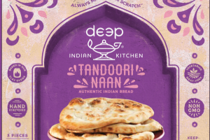 TANDOORI NAAN AUTHENTIC INDIAN BREAD