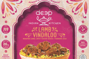 HOT SPICE ROASTED LAMB VINDALOO SPICY YOGURT TURMERIC RICE