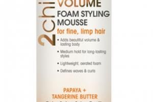 ULTRA VOLUME FOAM STYLING MOUSSE PAPAYA + TANGERINE BUTTER