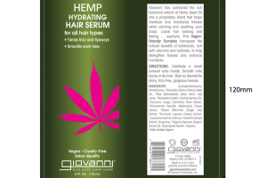 HEMP HYDRATING HAIR SERUM