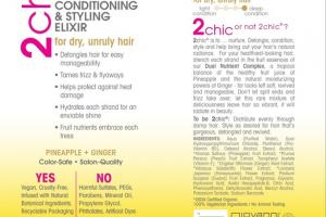 ULTRA REVIVE LEAVE-IN CONDITIONING & STYLING ELIXIR PINEAPPLE + GINGER