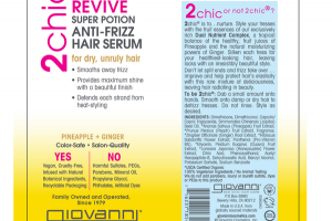 ULTRA REVIVE SUPER POTION ANTI-FRIZZ HAIR SERUM PINEAPPLE + GINGER