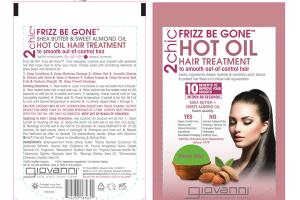 HOT OIL HAIR TREATMENT SHEA BUTTER + SWEET ALMOND OIL