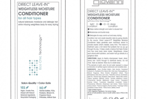 DIRECT LEAVE-IN™ WEIGHTLESS MOISTURE CONDITIONER