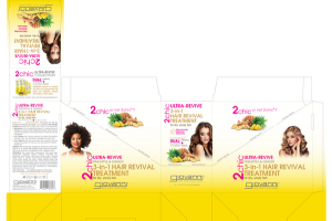 ULTRA-REVIVE 3-IN-1 HAIR REVIVAL TREATMENT PINEAPPLE + GINGER