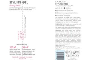 L.A. HOLDT STYLING GEL