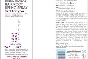 ROOT 66 MAX VOLUME DIRECTIONAL HAIR ROOT LIFTING SPRAY