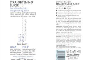 STRAIGHT FAST STRAIGHTENING ELIXIR THE ULTIMATE HAIR-STRAIGHTENING ELIXIR