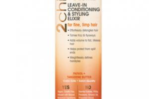 ULTRA VOLUME LEAVE-IN CONDITIONING & STYLING ELIXIR PAPAYA + TANGERINE BUTTER